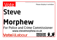 Show your support for Steve - please download and print this A4 poster to display in your window